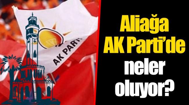 Aliağa AK Parti'de neler oluyor?