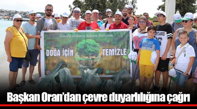 Başkan Oran'dan çevre duyarlılığına çağrı