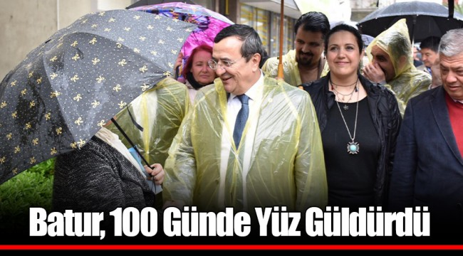 Batur, 100 Günde Yüz Güldürdü