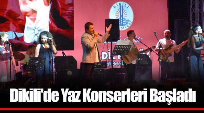 Dikili'de Yaz Konserleri Başladı