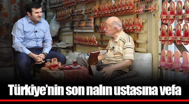 Türkiye'nin son nalın ustasına vefa