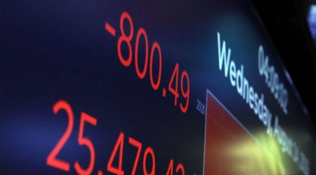 ABD piyasalarında sert düşüş; Trump, Merkez Bankasını suçladı