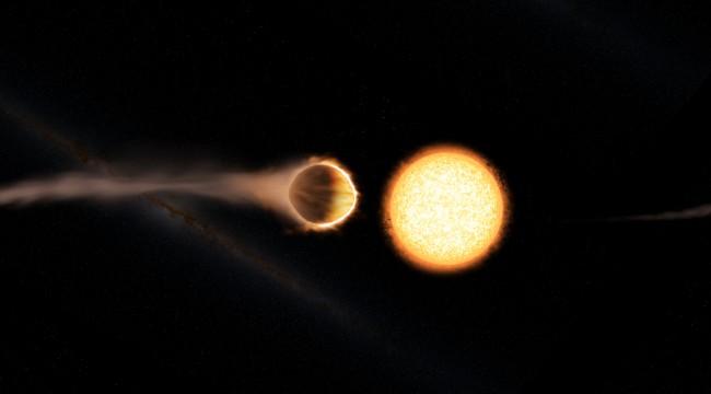 Ağır metallerden oluşan futbol topu şeklinde bir gezegen keşfedildi