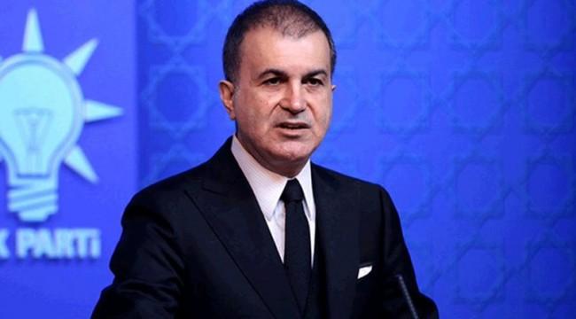 AKP Sözcüzü Çelik: Hükümetimiz Doğu Akdeniz'de gerekli adımları atmayı sürdürecek