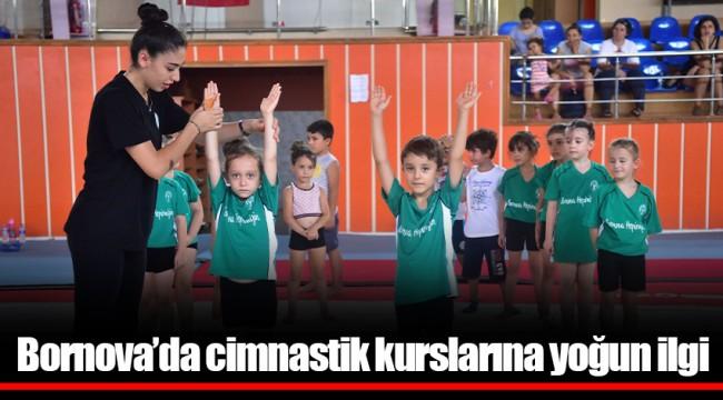 Bornova'da cimnastik kurslarına yoğun ilgi