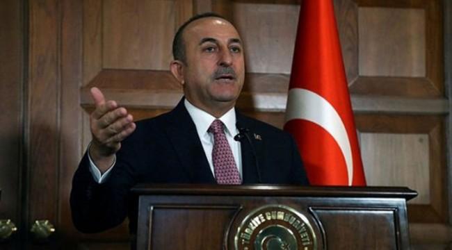 Çavuşoğlu: ABD hâlâ YPG'ye silah yardımı yapıyor