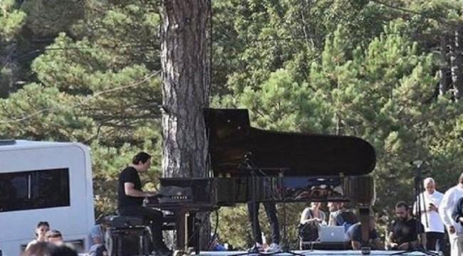 Fazıl Say'dan Kaz Dağları'nda konser: Bugün Türk halkıyla onur duydum