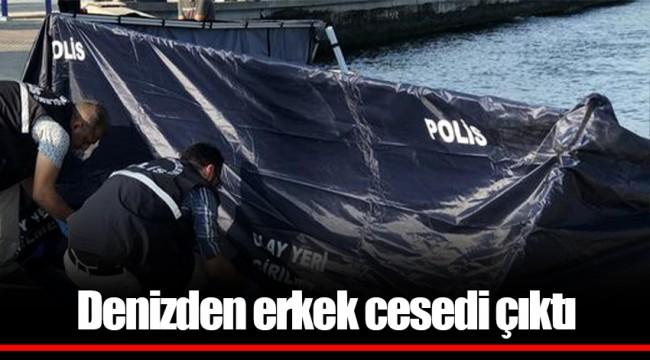 İzmir'de denizden erkek cesedi çıktı