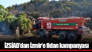 İZSİAD'dan İzmir'e fidan kampanyası