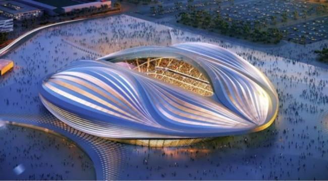 Katar'daki stadyumlarda Dünya Kupası hazırlıkları sürüyor