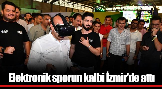 Elektronik sporun kalbi İzmir'de attı