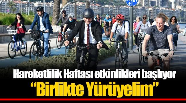 """Hareketlilik Haftası etkinlikleri başlıyor  """"Birlikte Yürüyelim"""""""
