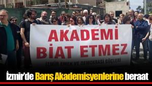 İzmir'de Barış Akademisyenlerine beraat