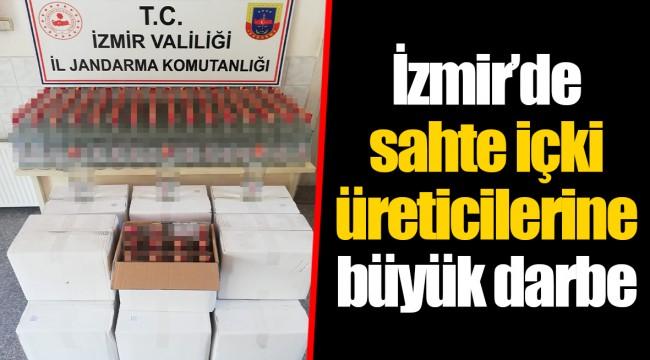 İzmir'de sahte içki üreticilerine büyük darbe