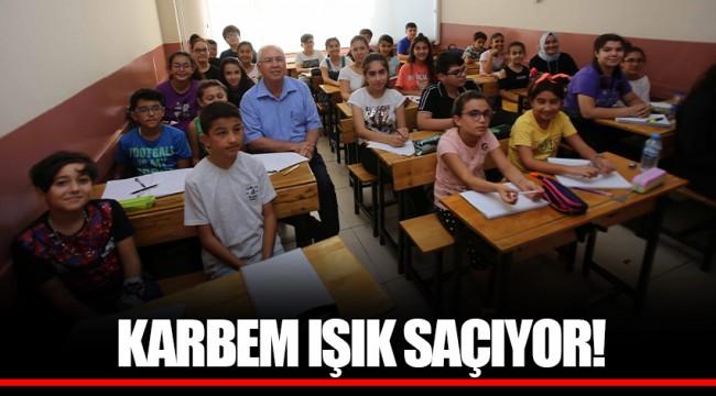 KARBEM IŞIK SAÇIYOR!