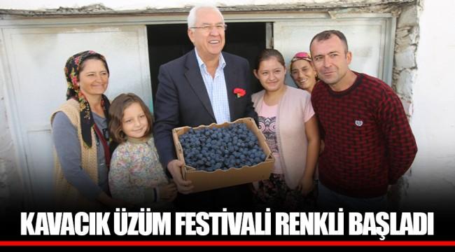 KAVACIK ÜZÜM FESTİVALİ RENKLİ BAŞLADI