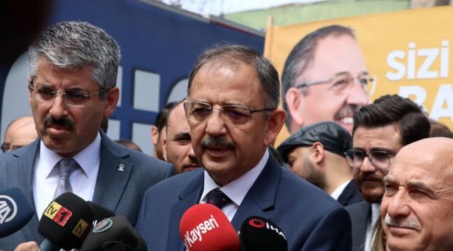 Özhaseki, 'Erdoğan'ın oy oranı yüzde 39.1' diyen araştırmayı yorumladı: Allah'a şükür bizim anketlerimizde sıkıntı yok