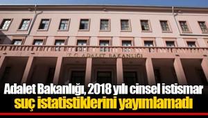 Adalet Bakanlığı, 2018 yılı cinsel istismar suç istatistiklerini yayımlamadı