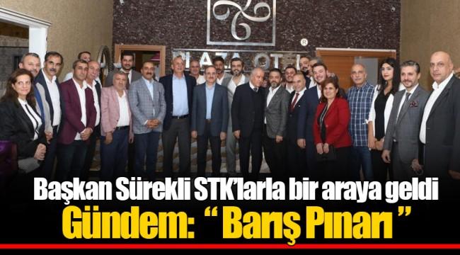 Başkan Sürekli STK'larla bir araya geldi