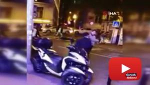 Beyoğlu'nda meydan kavgası kamerada