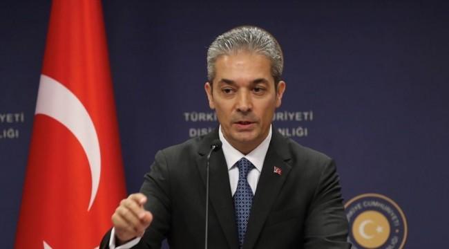 Dışişleri Bakanlığı: Harekat alanındaki DEAŞ unsurlarının ve kamplarda bulunan ailelerinin gözetimini üstleneceğiz