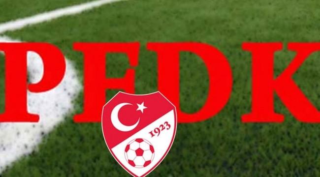 Galatasaray ve Beşiktaş PFDK'ya sevk edildi!