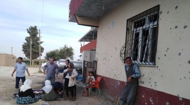 YPG'den Akçakale'ye havanlı saldırı: Gazetecilerin bulunduğu otelin yanına düştü