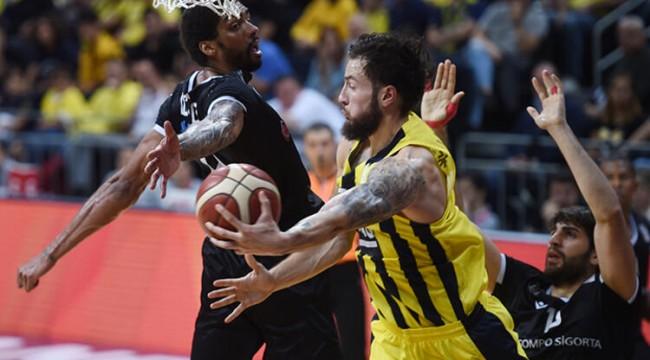 Basketbolda derbi maçta gülen taraf Fenerbahçe!