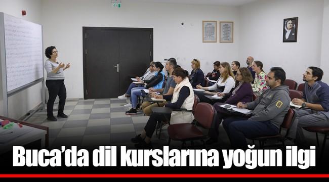 Buca'da dil kurslarına yoğun ilgi