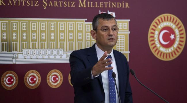 CHP Grup Başkanvekili Özgür Özel: Erken seçime davul-zurnayla gideriz