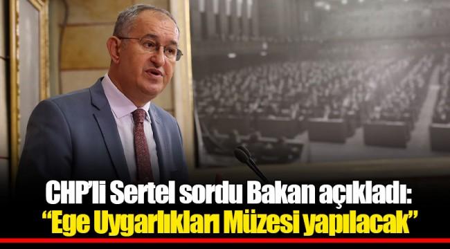 CHP'li Sertel sordu Bakan açıkladı: