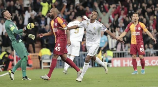 Galatasaray Madrid'te ağır yaralı; 6-0