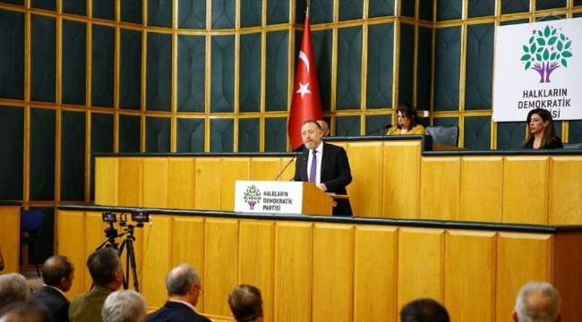 HDP Eş Genel Başkanı Temelli: Siyasi çözümde ısrarcıyız
