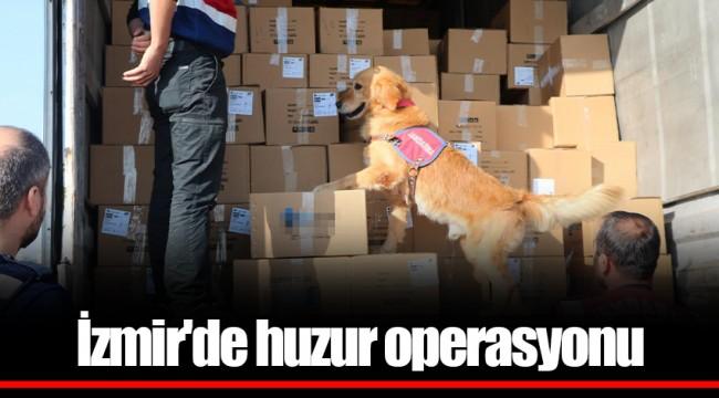 İzmir'de huzur operasyonu