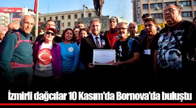 İzmirli dağcılar 10 Kasım'da Bornova'da buluştu