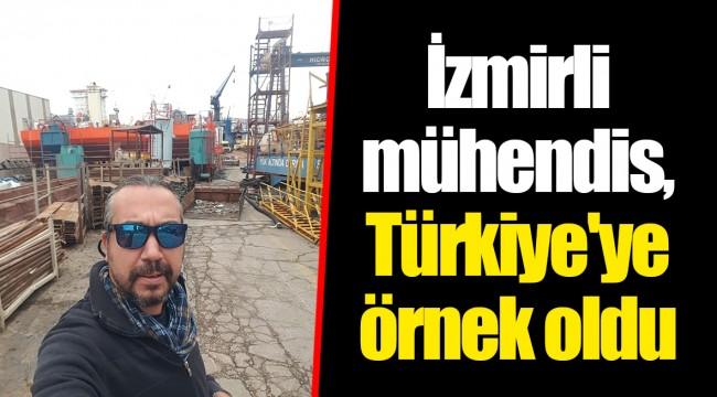 İzmirli mühendis, Türkiye'ye örnek oldu