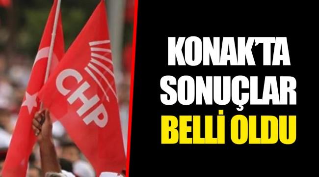KONAK'TA SONUÇLAR BELLİ OLDU