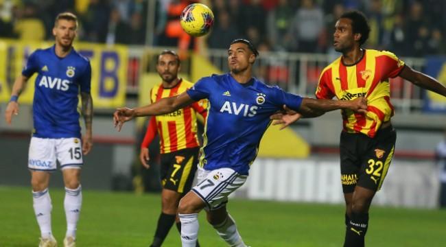 Nefes kesen maçta Göztepe ile Fenerbahçe yenişemedi
