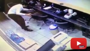 Şirket sahibi hırsızı paylaştığı videoyla ifşa etti
