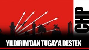 YILDIRIM'DAN TUGAY'A DESTEK