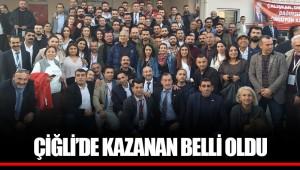 ÇİĞLİ'DE KAZANAN BELLİ OLDU