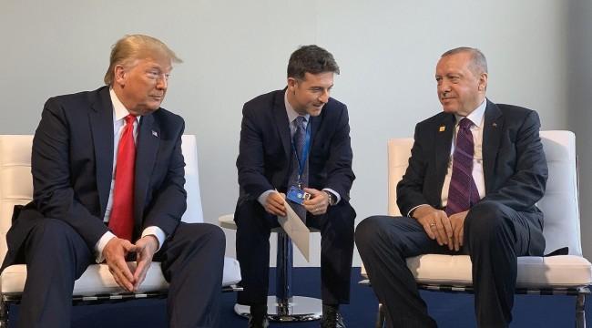 Erdoğan, NATO zirvesinde Trump ile bir araya geldi