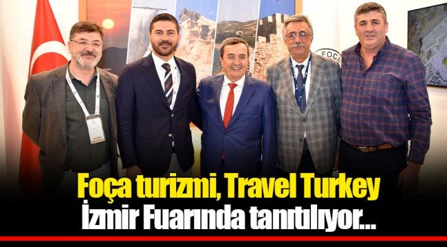 Foça turizmi, Travel Turkey İzmir Fuarında tanıtılıyor…