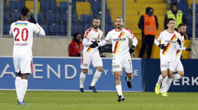 Göztepe'den başkentte 3 gol