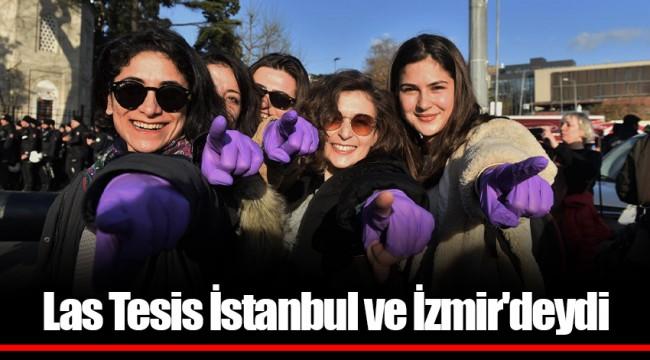 Las Tesis İstanbul ve İzmir'deydi