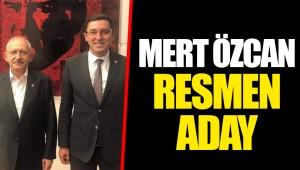 MERT ÖZCAN RESMEN ADAY