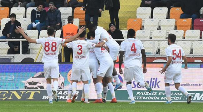 Sivasspor zirveyi çok sevdi