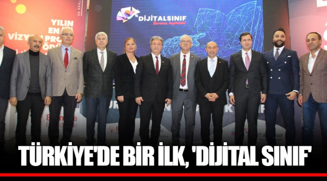 TÜRKİYE'DE BİR İLK, 'DİJİTAL SINIF'