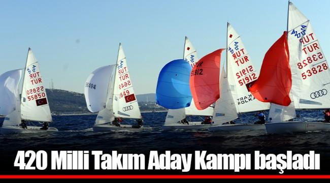 420 Milli Takım Aday Kampı başladı