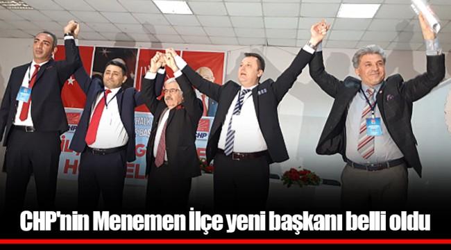 CHP'nin Menemen'in yeni İlçe başkanı belli oldu